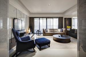 146平米现代风格精装大户型室内装修效果图