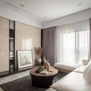 现代风格精致大户型客厅电视背景墙效果图