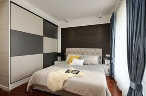 20平米现代简约风格卧室装修效果图