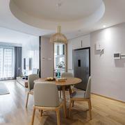 宜家风格质朴简单餐厅装修效果图