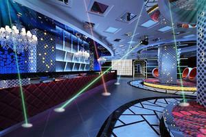 现代简约风格时尚KTV大厅设计装修效果图赏析