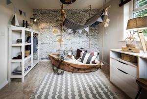 地中海风格时尚创意儿童房装修效果图赏析
