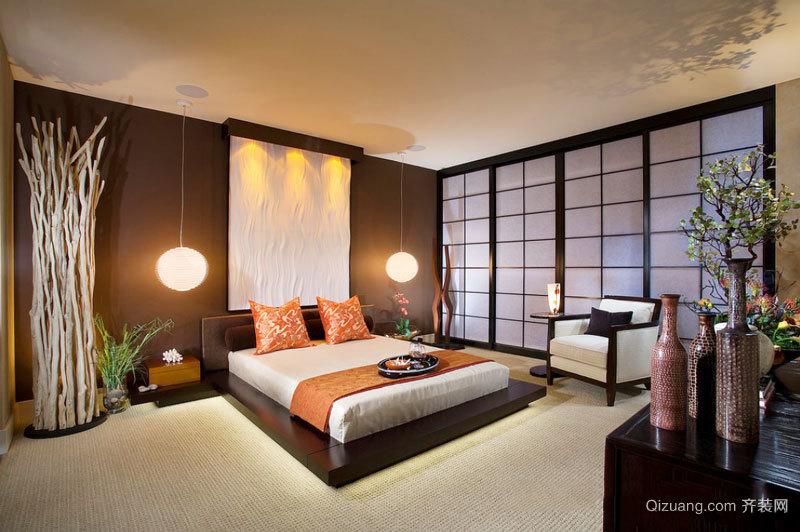东南亚风格精致时尚卧室装修效果图赏析