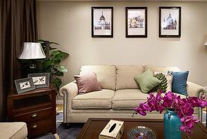 89平米简欧风格精美两室两厅装修效果图案例