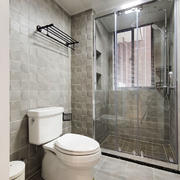 现代简约风格卫生间淋雨房设计装修效果图