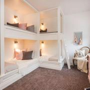 欧式风格精美双层床儿童房装修效果图