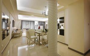135平米欧式风格精致三室两厅装修效果图