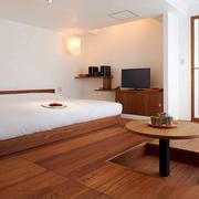 日式风格简约卧室榻榻米装修效果图