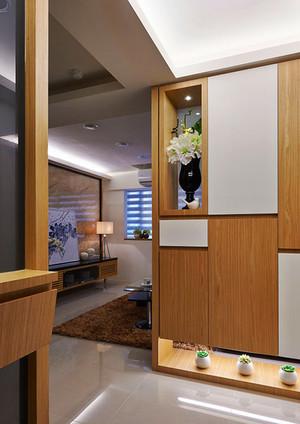 98平米现代风格精致三室两厅装修效果图