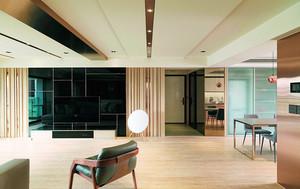 142平米现代风格精致大户型设计装修效果图