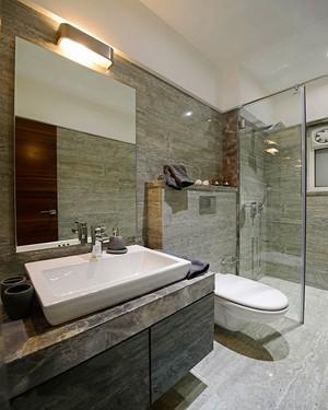 105平米现代简约风格精致两室两厅两卫装修效果图