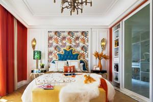 新古典主义风格大户型华丽卧室装修效果图