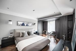 新中式风格素雅精致卧室装修效果图