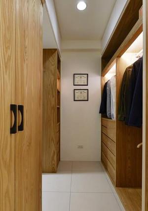 中式风格精致三室两厅室内装修效果图