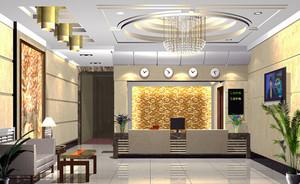 现代风格精致宾馆大厅设计装修效果图