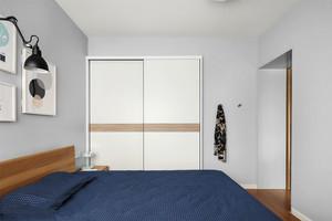 北欧风格简约浅色卧室装修效果图赏析