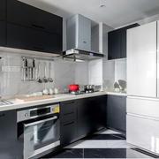 现代简约风格厨房设计装修实景图