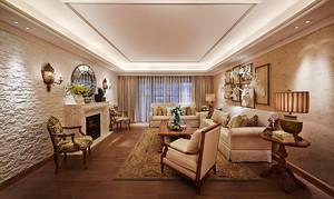 法式田园风格精美大户型室内设计装修效果图