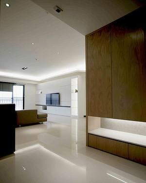 简约风格裸色精美三室两厅室内装修效果图赏析