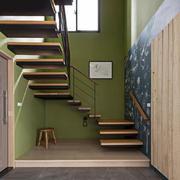 现代风格精致实木楼梯设计装修效果图赏析