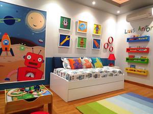 美式风格精美时尚儿童房装修效果图