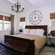 美式风格精致复古卧室装修效果图赏析