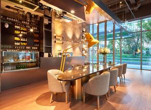 简欧风格温馨咖啡厅设计装修效果图