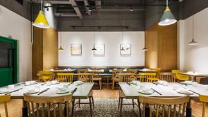 中式风格简约餐厅设计装修效果图