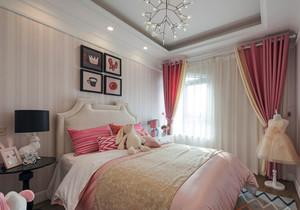 欧式风格甜美粉色儿童房装修效果图赏析