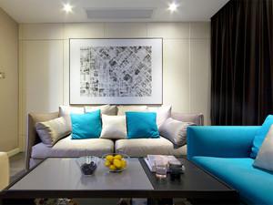 清新风格时尚两室两厅室内装修效果图赏析