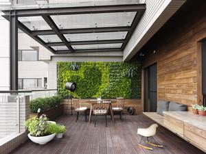 现代简约风格精装大户型室内装修效果图