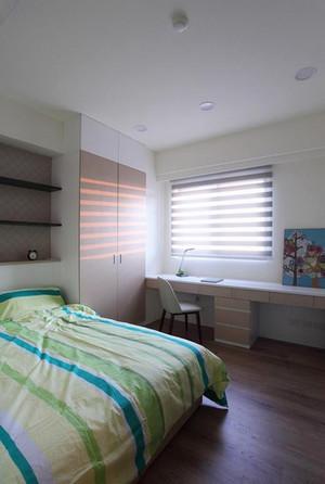 78平米现代简约风格两室两厅室内装修效果图案例