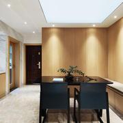 新中式风格精致餐厅卡座设计装修效果图