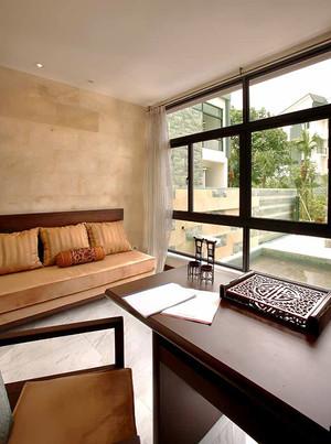 中式风格精致别墅室内装修效果图案例