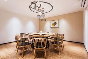 新中式风格精致餐厅包厢设计装修效果图