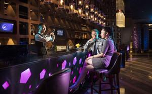 复古风格时尚音乐酒吧设计装修效果图