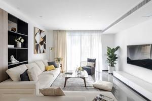 现代简约风格舒适客厅设计装修效果图