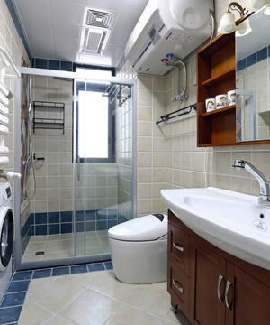 美式风格简约卫生间设计装修效果图赏析