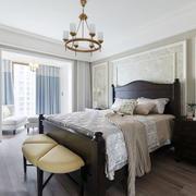 美式风格雅致大户型卧室装修效果图赏析