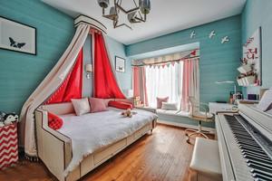 欧式风格甜美清新儿童房设计装修效果图