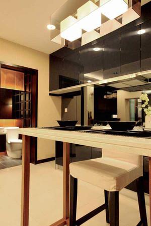 74平米日式风格素雅一居室装修效果图