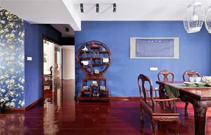 100平米现代中式风格室内设计装修效果图