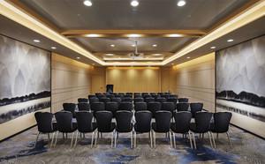 现代风格精致大型会议室设计装修效果图