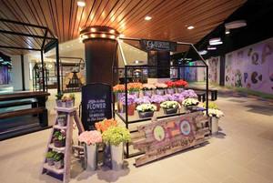 现代风格温馨花店设计装修效果图