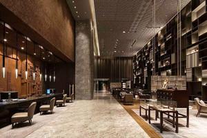 新中式风格典雅精致高等餐厅装修效果图