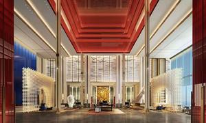 现代风格精美奢华精致酒店大堂设计装修效果图