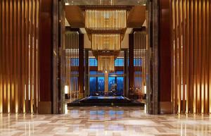 欧式风格精美奢华五星级酒店大堂设计装修效果图