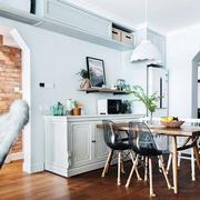 北欧风格白色清新餐厅设计装修效果图赏析