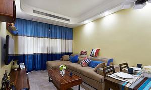 简欧风格精美两室两厅室内装修实景图赏析