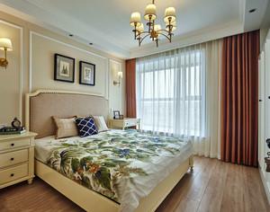 现代美式风格精致卧室装修效果图赏析